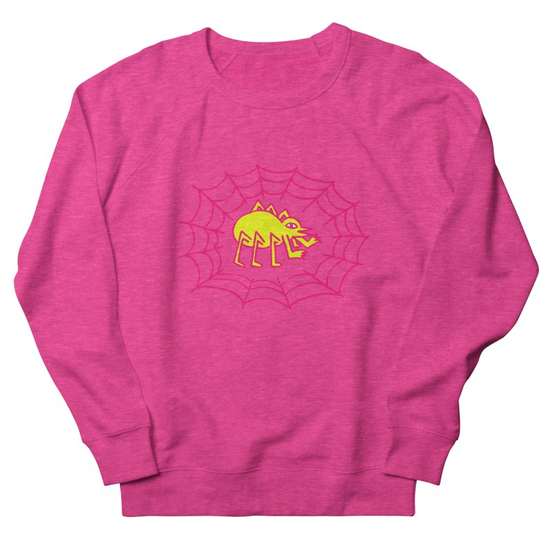 Neon Spider Women's Sweatshirt by timrobot's Artist Shop