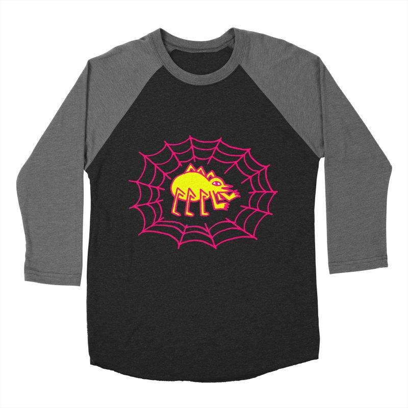 Neon Spider Women's Baseball Triblend T-Shirt by timrobot's Artist Shop