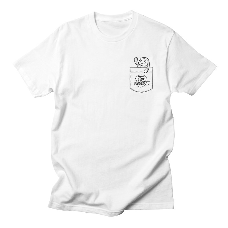 Pocket Friend Men's T-shirt by timrobot's Artist Shop