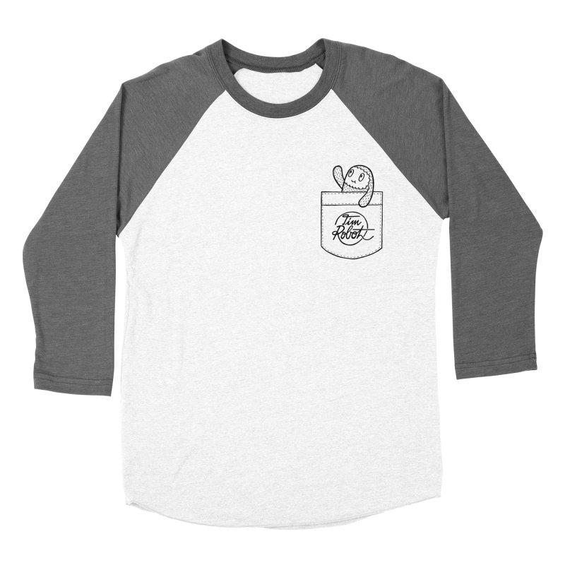Pocket Friend Men's Baseball Triblend T-Shirt by timrobot's Artist Shop