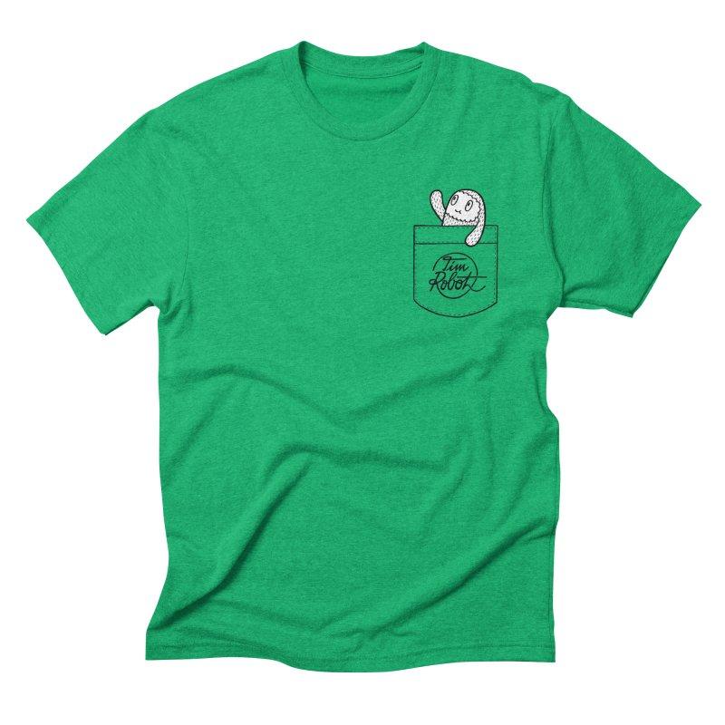 Pocket Friend Men's Triblend T-shirt by timrobot's Artist Shop