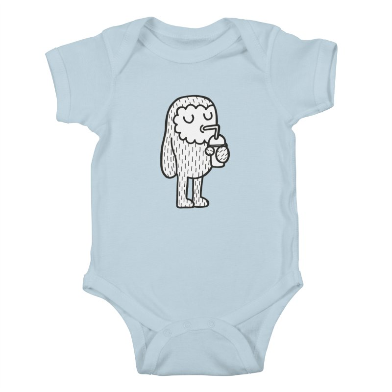 REHYDRATE in Kids Baby Bodysuit Baby Blue by timrobot's Artist Shop