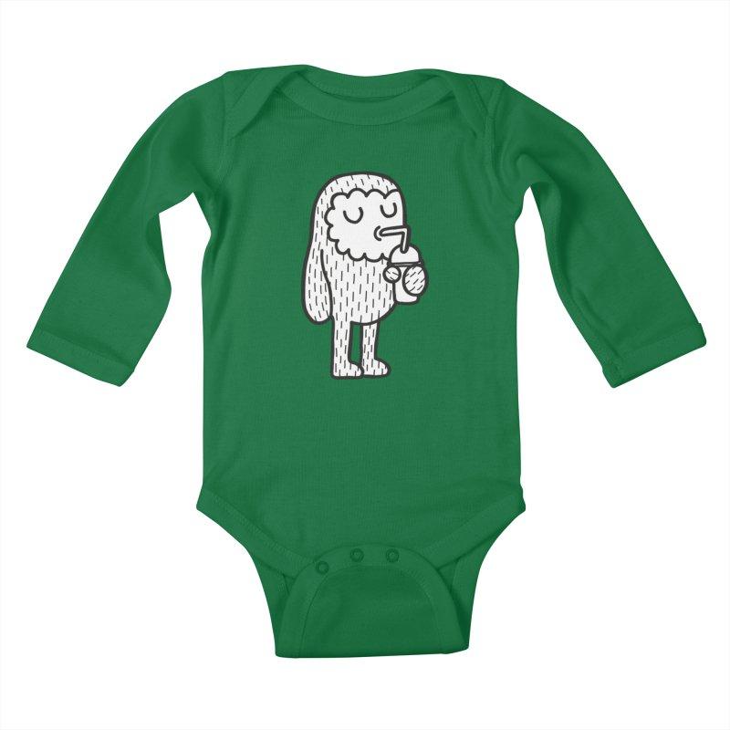 Rehydrate Kids Baby Longsleeve Bodysuit by timrobot's Artist Shop
