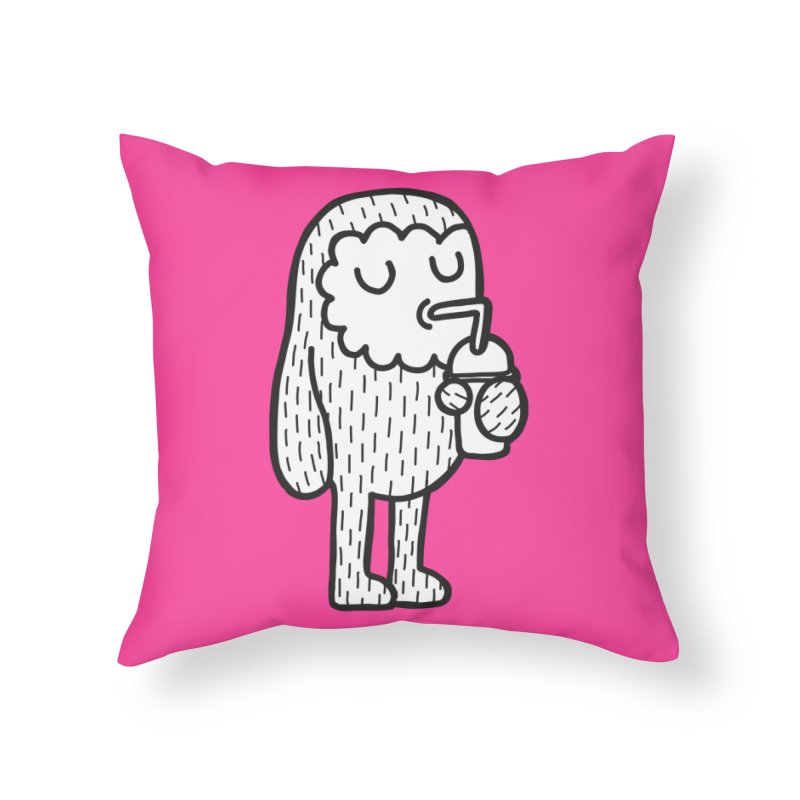 Rehydrate Home Throw Pillow by timrobot's Artist Shop