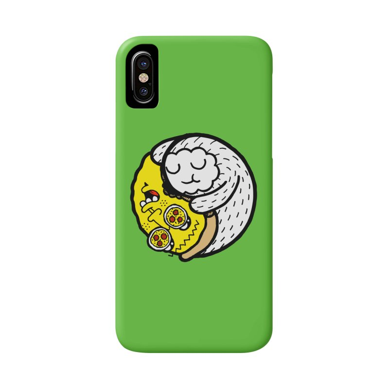 Eat More Friends Accessories Phone Case by timrobot's Artist Shop
