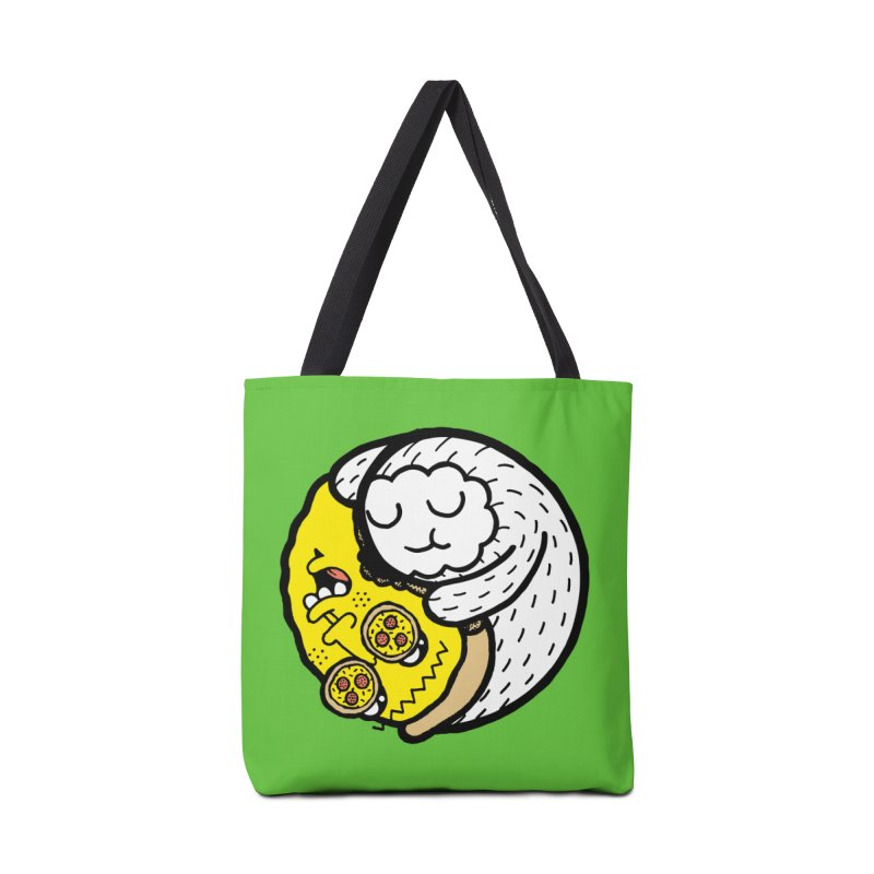Eat More Friends Accessories Bag by timrobot's Artist Shop