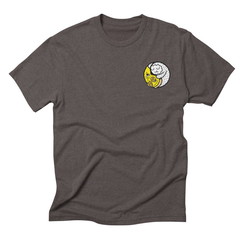 Eat More Friends Pocket Men's Triblend T-shirt by timrobot's Artist Shop