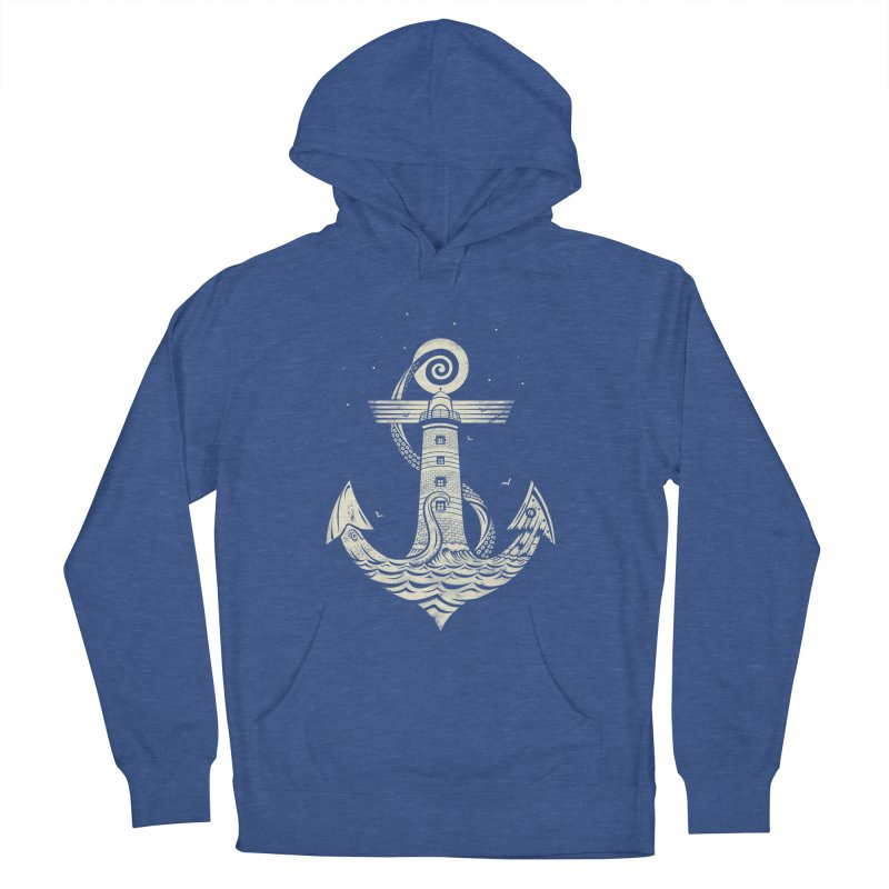 Hold Strong Men's French Terry Pullover Hoody by timwitted's Artist Shop