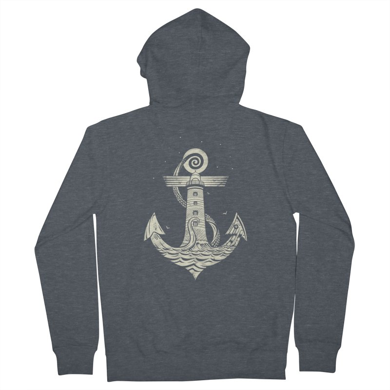 Hold Strong Men's Zip-Up Hoody by timwitted's Artist Shop