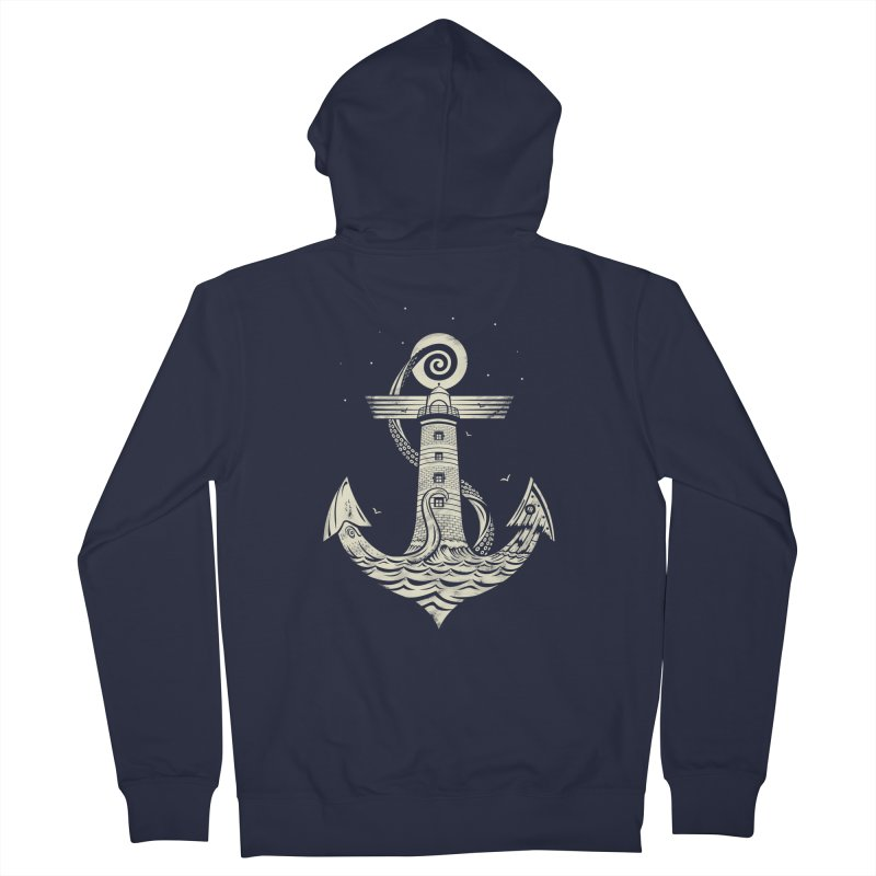 Hold Strong Men's French Terry Zip-Up Hoody by timwitted's Artist Shop