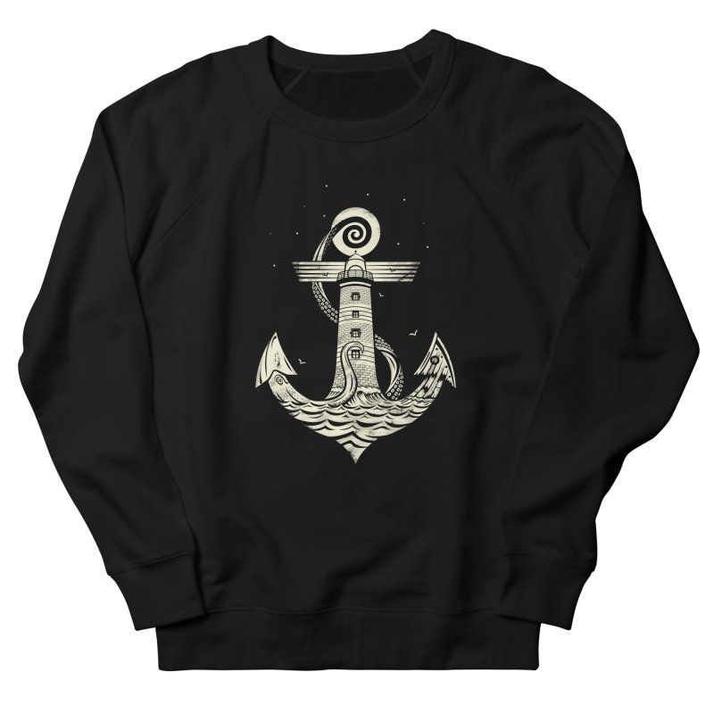 Hold Strong Men's French Terry Sweatshirt by timwitted's Artist Shop