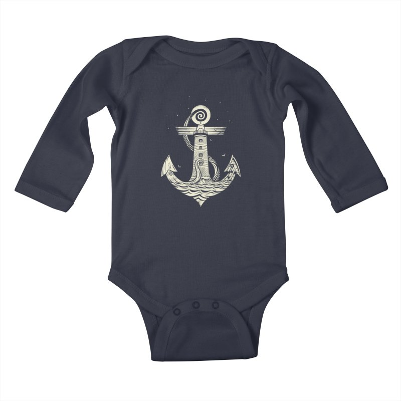 Hold Strong Kids Baby Longsleeve Bodysuit by timwitted's Artist Shop