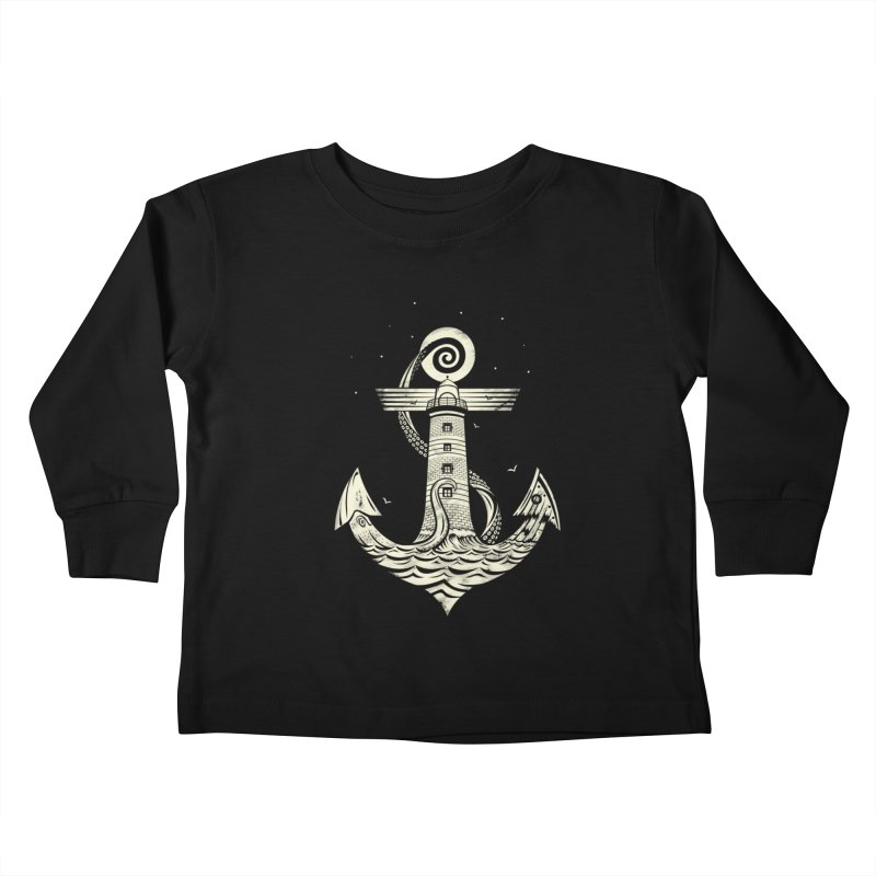 Hold Strong Kids Toddler Longsleeve T-Shirt by timwitted's Artist Shop