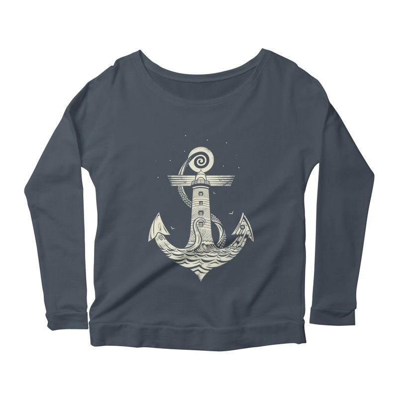Hold Strong Women's Longsleeve Scoopneck  by timwitted's Artist Shop