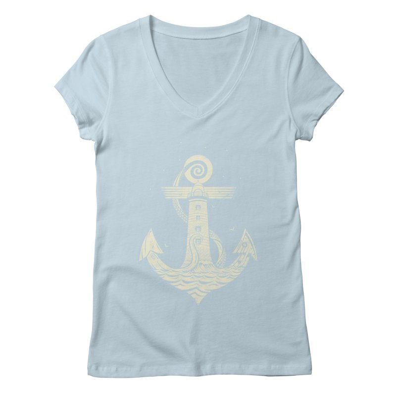 Hold Strong Women's V-Neck by timwitted's Artist Shop