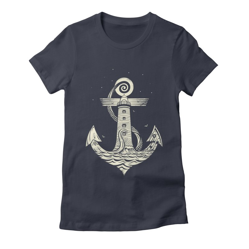 Hold Strong Women's Fitted T-Shirt by timwitted's Artist Shop