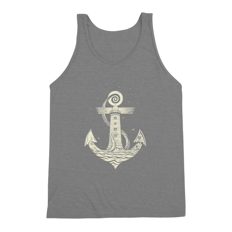 Hold Strong Men's Triblend Tank by timwitted's Artist Shop