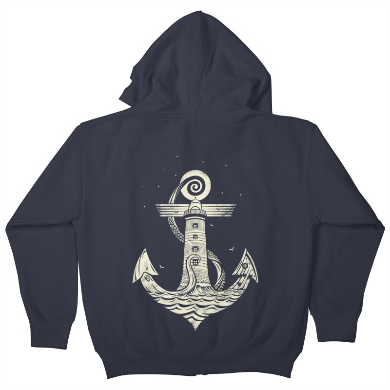 Hold Strong Kids Zip-Up Hoody by timwitted's Artist Shop