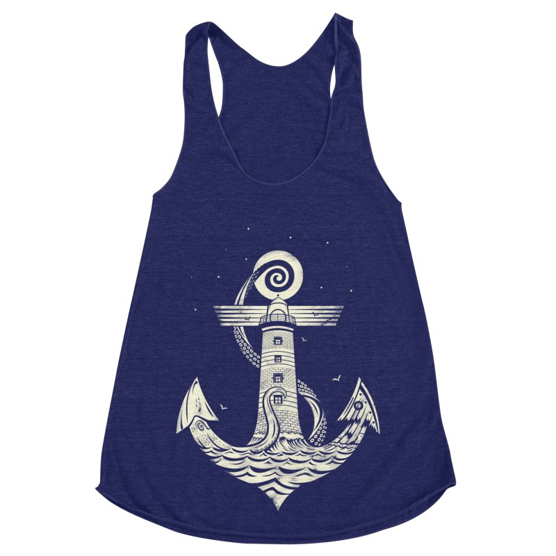 Hold Strong Women's Racerback Triblend Tank by timwitted's Artist Shop