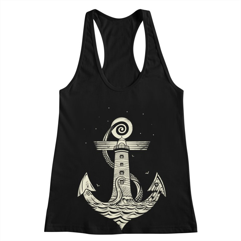 Hold Strong Women's Racerback Tank by timwitted's Artist Shop