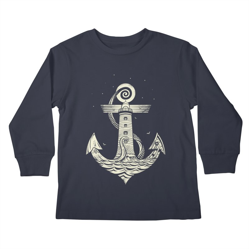 Hold Strong Kids Longsleeve T-Shirt by timwitted's Artist Shop