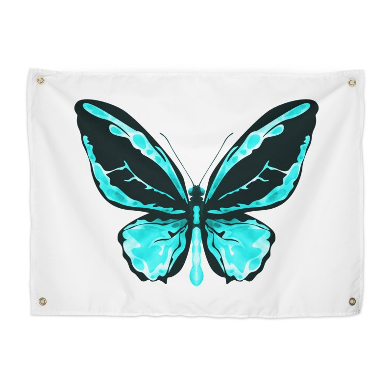 Neon Butterfly Home  by Timxez