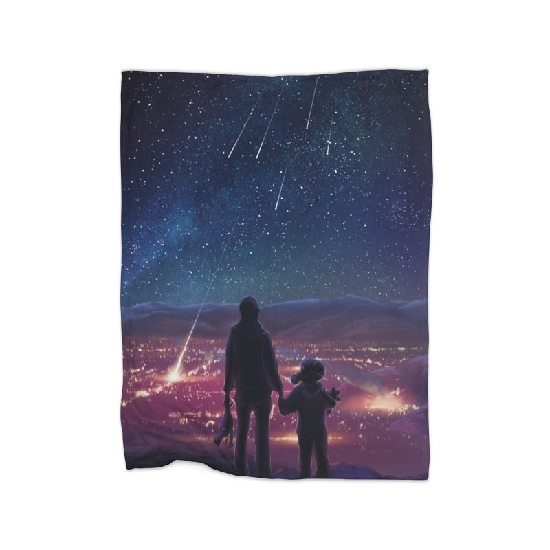 Wish Upon a Star Home Blanket by TinaNewtonArt