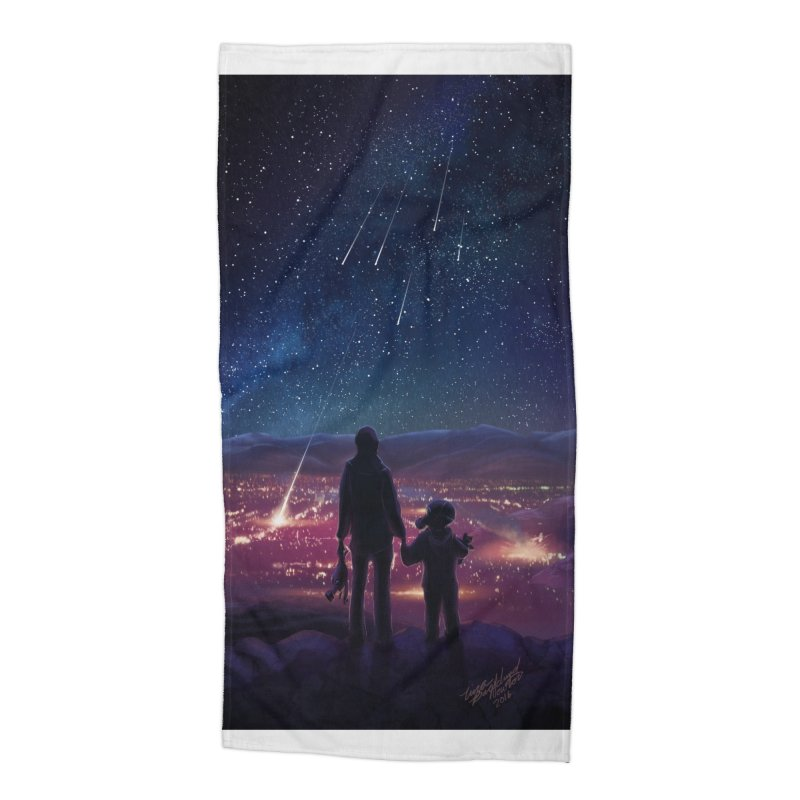 Wish Upon a Star Accessories Beach Towel by TinaNewtonArt