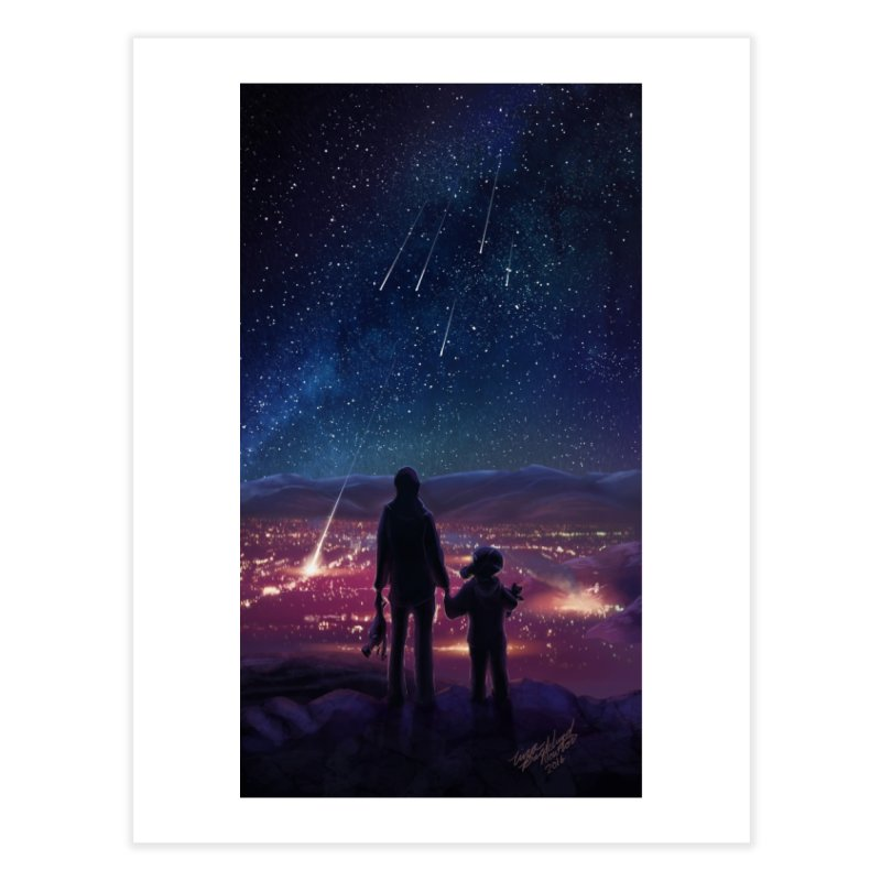 Wish Upon a Star Home Fine Art Print by TinaNewtonArt