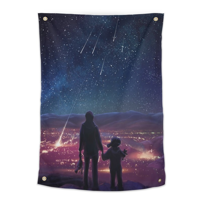 Wish Upon a Star Home Tapestry by TinaNewtonArt
