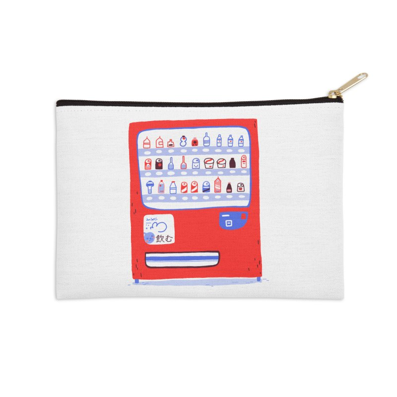 Japanese vending machine Accessories Zip Pouch by Tina Tamay