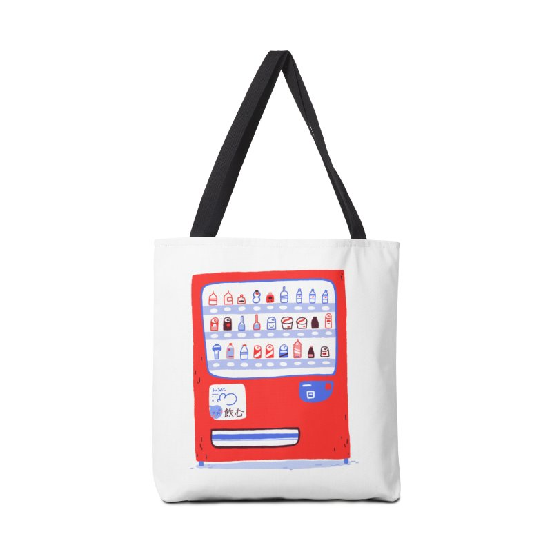 Japanese vending machine Accessories Tote Bag Bag by Tina Tamay