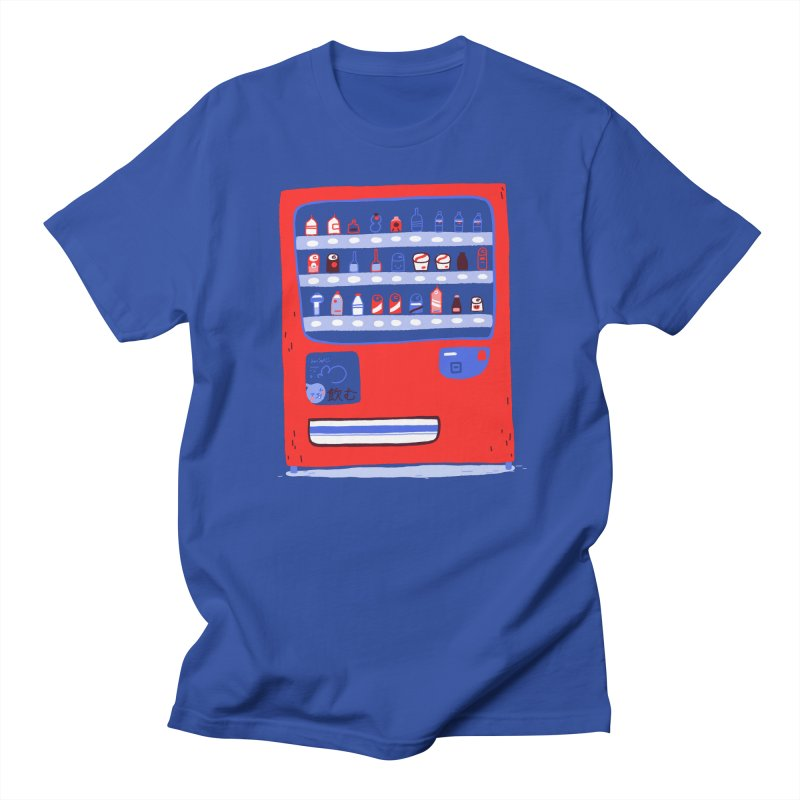 Japanese vending machine Men's T-Shirt by Tina Tamay