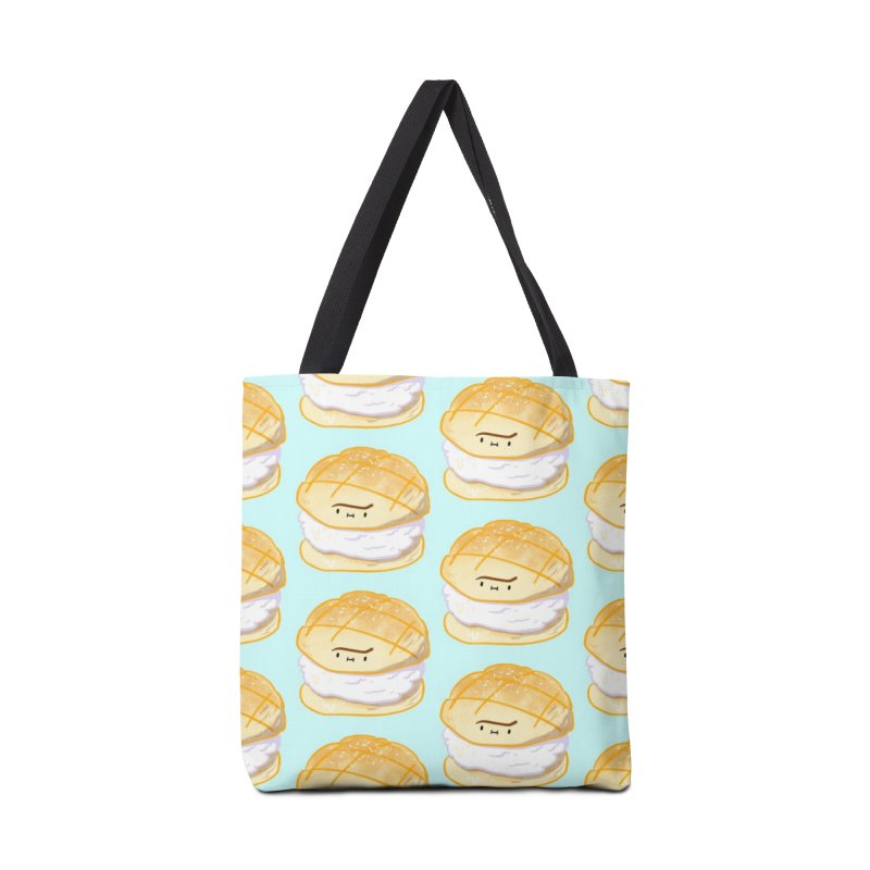 Meronpan vanilla ice cream Accessories Tote Bag Bag by Tina Tamay