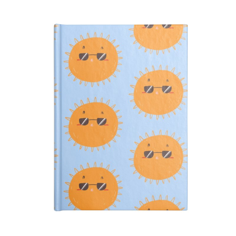 Holidays mode Accessories Lined Journal Notebook by Tina Tamay