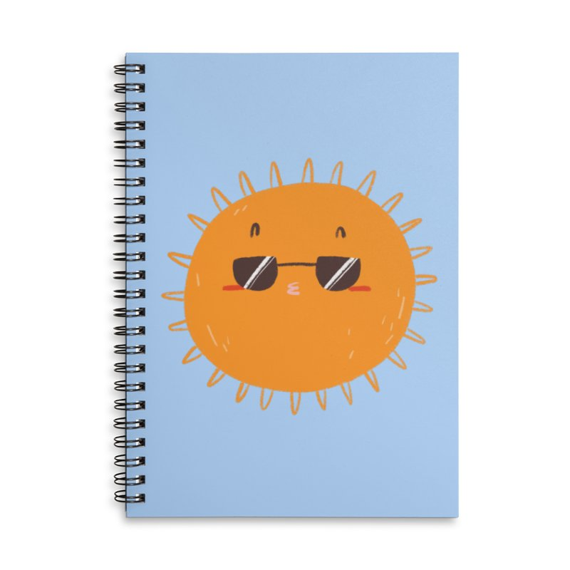 Holidays mode Accessories Lined Spiral Notebook by Tina Tamay