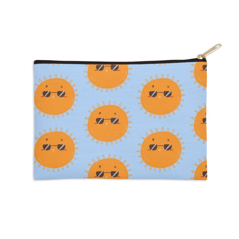 Holidays mode Accessories Zip Pouch by Tina Tamay