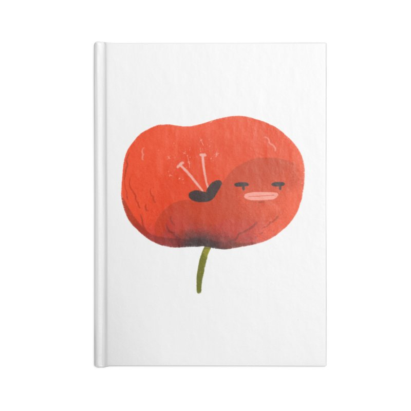 Not in the mood Accessories Lined Journal Notebook by Tina Tamay
