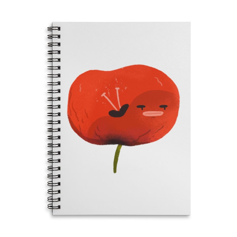 Not in the mood Accessories Lined Spiral Notebook by Tina Tamay
