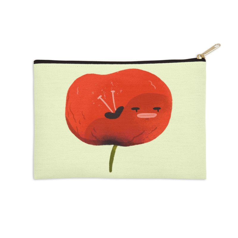 Not in the mood Accessories Zip Pouch by Tina Tamay