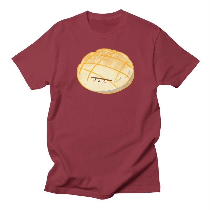 Cute meronpan in Women's Regular Unisex T-Shirt Scarlet Red by Tina Tamay