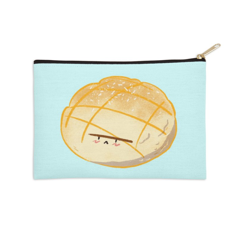 Cute meronpan Accessories Zip Pouch by Tina Tamay