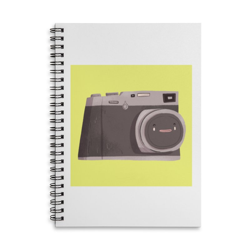Travel companion Accessories Lined Spiral Notebook by Tina Tamay