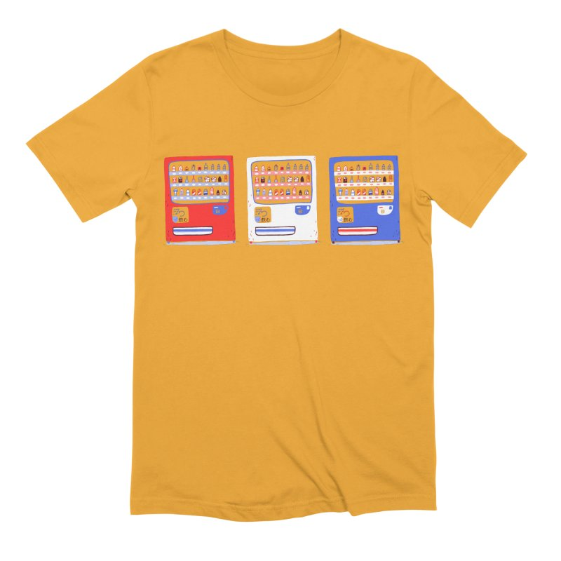 Vending street Men's Extra Soft T-Shirt by Tina Tamay