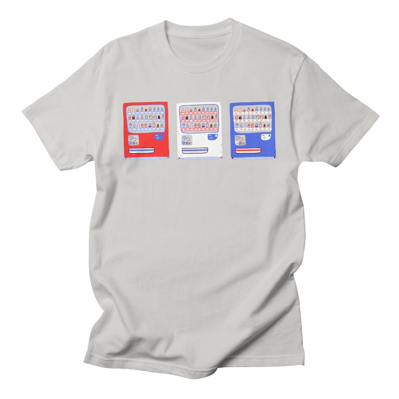Vending street in Men's Regular T-Shirt Stone by Tina Tamay