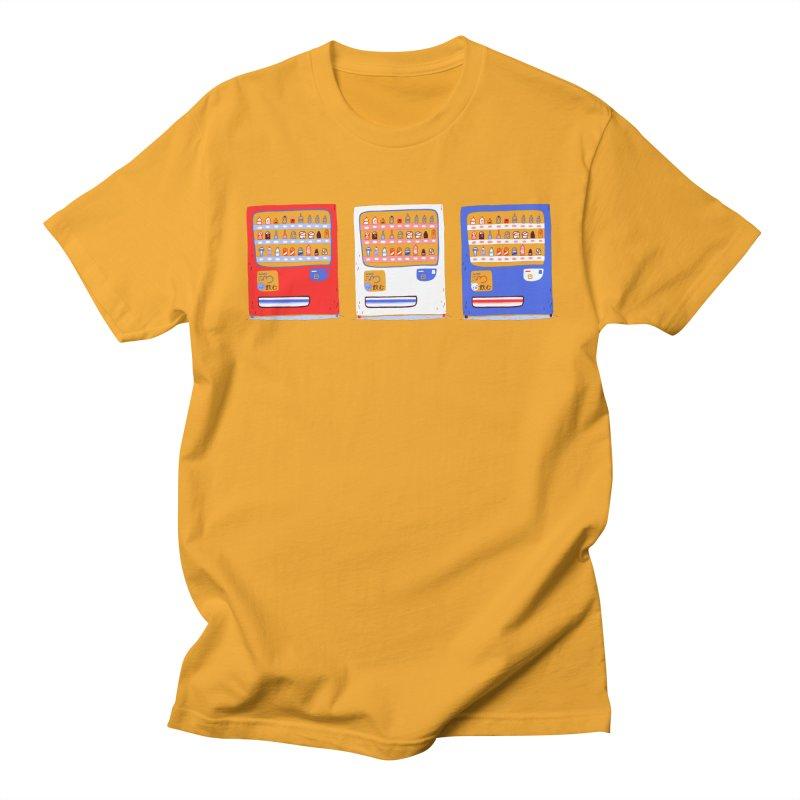 Vending street Men's Regular T-Shirt by Tina Tamay