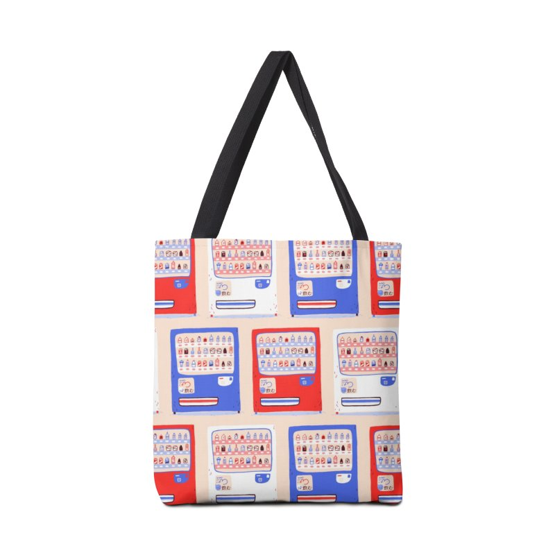 Vending street in Tote Bag by Tina Tamay