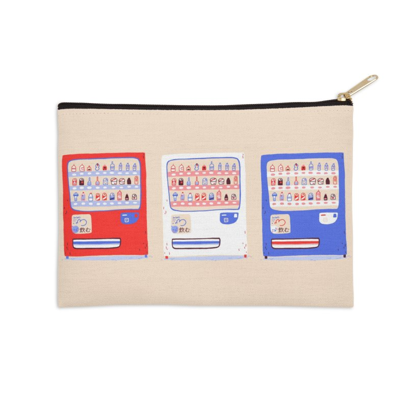 Vending street Accessories Zip Pouch by Tina Tamay