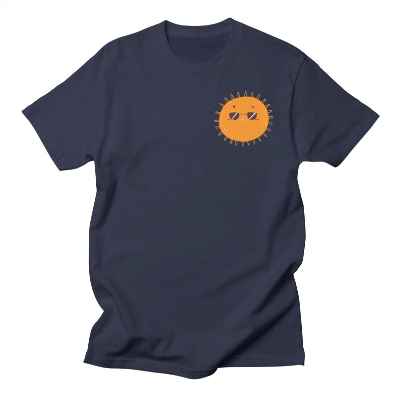 Holidays Mode [pocket size] Men's Regular T-Shirt by Tina Tamay