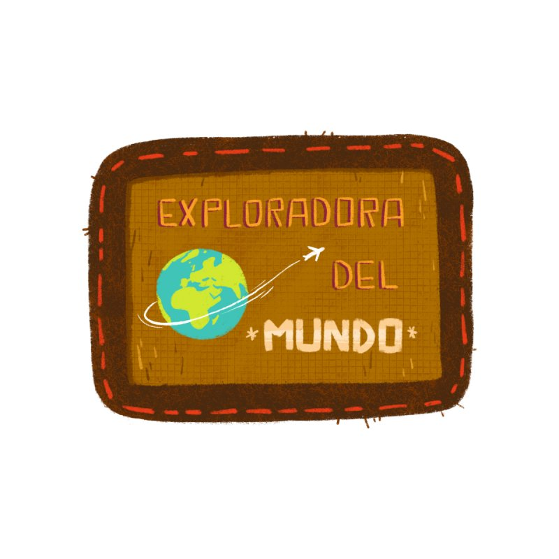 Exploradora del mundo Accessories Sticker by Tina Tamay
